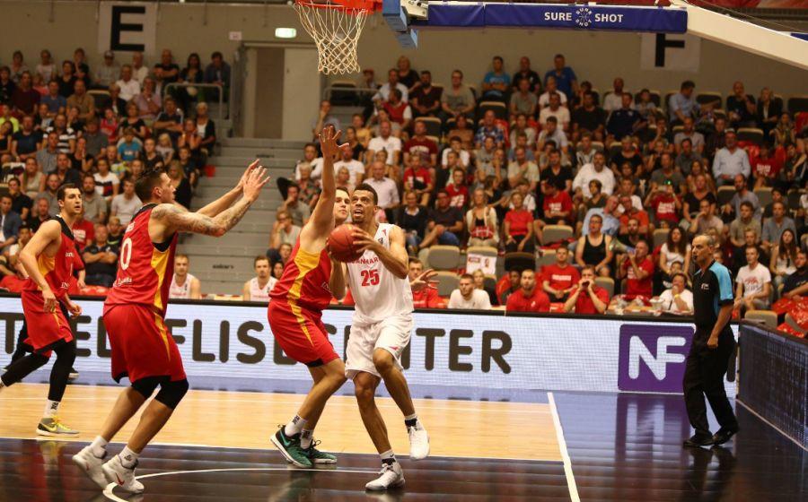 Mecz Dania - Niemcy (Fot. Facebook.com/danskbasket)