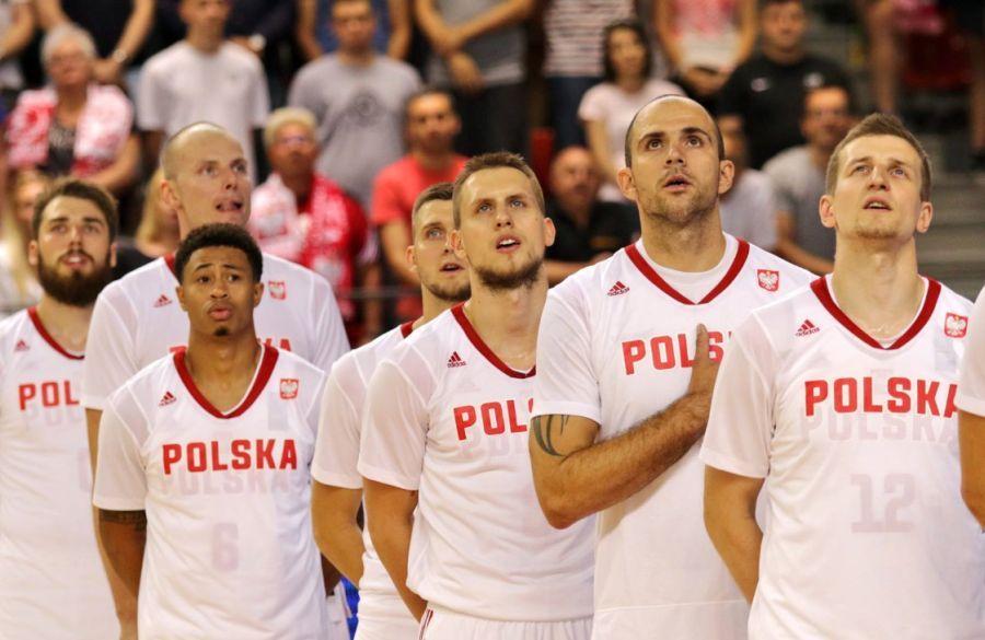 Reprezentacja Polska (Fot. Andrzej Romański/PZKosz)