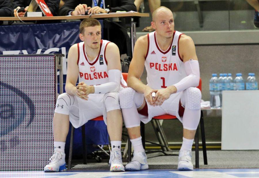 Adam Waczyński i Maciej Lampe (Fot. Andrzej Romański/PZKosz)