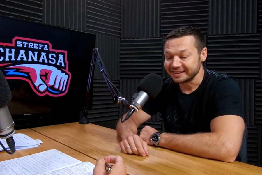 Strefa Chanasa #40 – gościem Grzegorz Mordzak