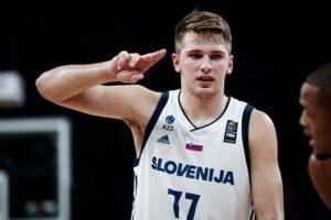 Słowenia wierzy w Lukę Doncicia i igrzyska w Tokio