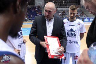 Trener Łukasz Biela / fot. Krzysztof Cichomski, King Szczecin