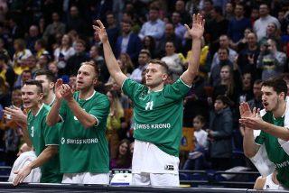 Łukasz Koszarek i Marcel Ponitka / fot. VTB