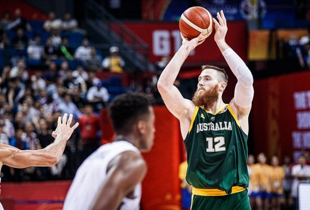 Aaron Baynes / fot. FIBA