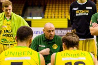 Trener Andrzej Kierlewicz / fot. Elektrobud-Investment Pruszków