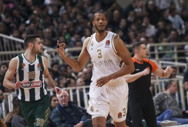 Anthony Randolph (Real Madryt) / fot. Euroleague