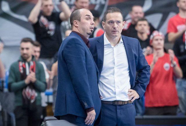Michał Sikora i David Dedek / fot. Start Lublin