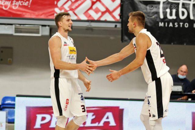 Mateusz Dziemba i Martins Laksa / fot. A. Romański, plk.pl
