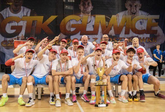 Zdobywcy złotych medali / fot. GTK Gliwice