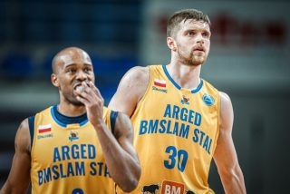 James Florence i Jakub Garbacz / fot. FIBA Europe