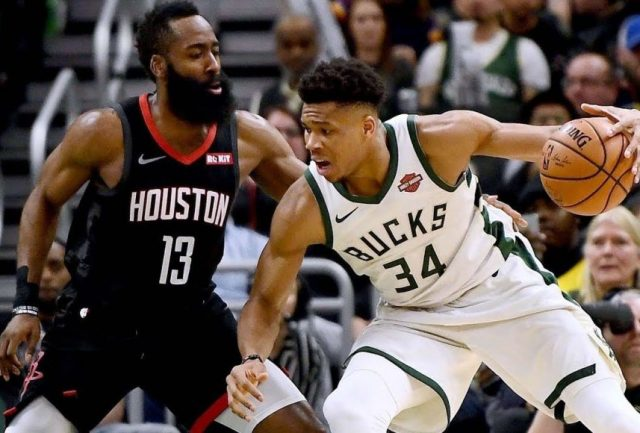 James Harden i Giannis Antetokounmpo spotkają się w Milwaukee / fot. wikimedia commons