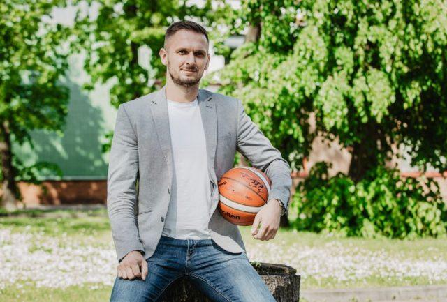 Jarosław Drewa, prezes klubu ze Starogardu / fot. Kociewskie Diabły