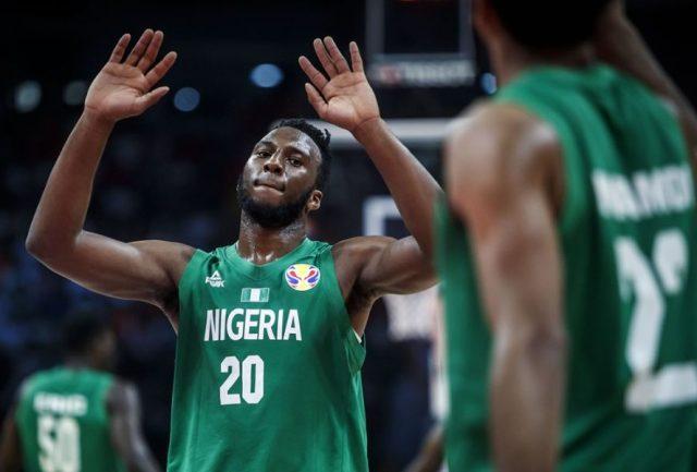 Josh Okogie, jeden z liderów reprezentacji Nigerii / fot. FIBA