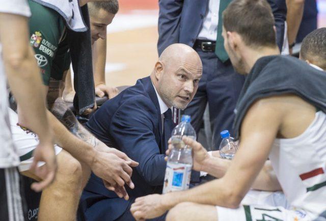 Trener Wojciech Kamiński / fot. P.Koperski, legiakosz.com
