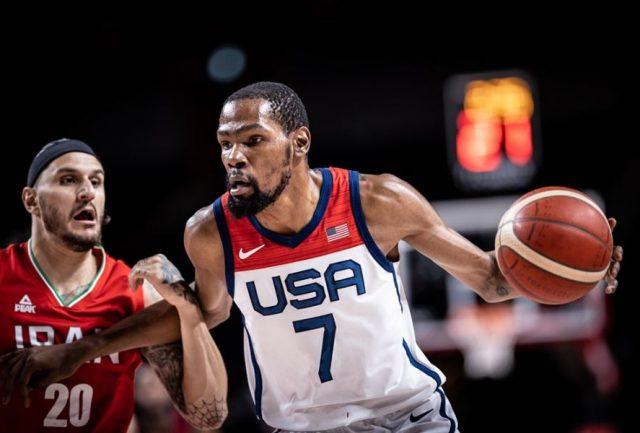 Kevin Durant / fot. FIBA