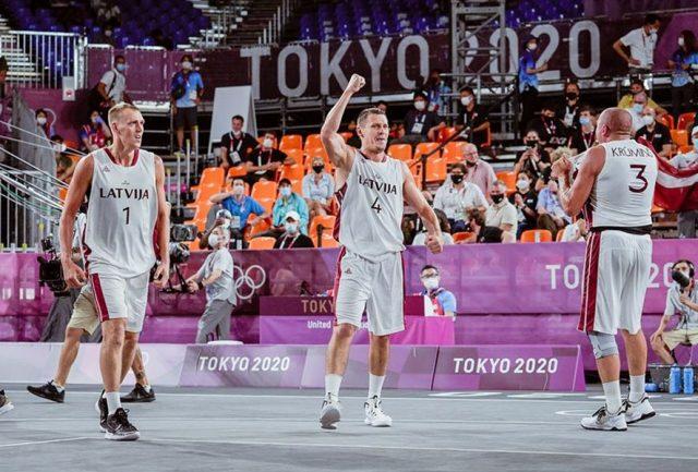 Reprezentanci Łotwy / fot. FIBA