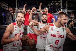 Tak Polacy cieszyli się po awansie na igrzyska – czy wielka radość wybuchnie też po turnieju w Tokio? fot. FIBA