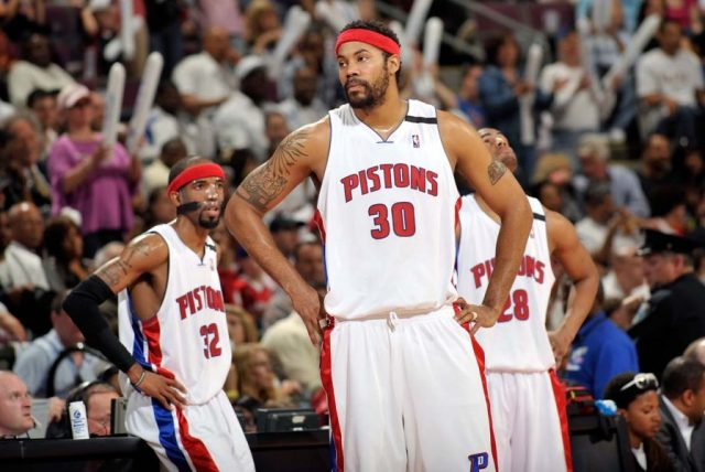 Rasheed Wallace / fot. wikimedia commons
