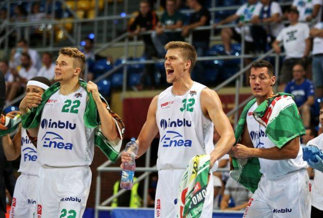 Daniel Szymkiewicz, Blake Reynolds i Filip Put / fot. A. Romański, plk.pl