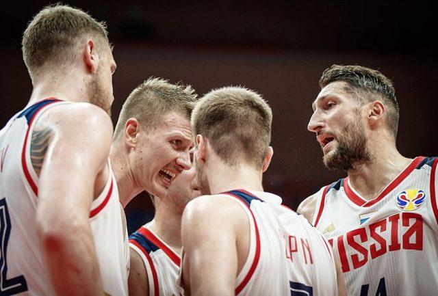Reprezentanci Rosji  / fot. FIBA
