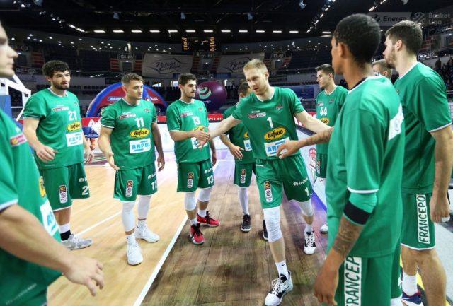 Koszykarze Stelmetu / fot. A. Romański, plk.pl