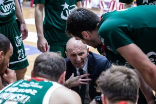 Tane Spasev i jego zespół / fot. Tadeusz Surma, PGE Spójnia Stargard