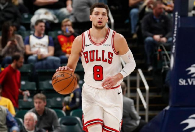 Zach LaVine / fot. wikimedia commons