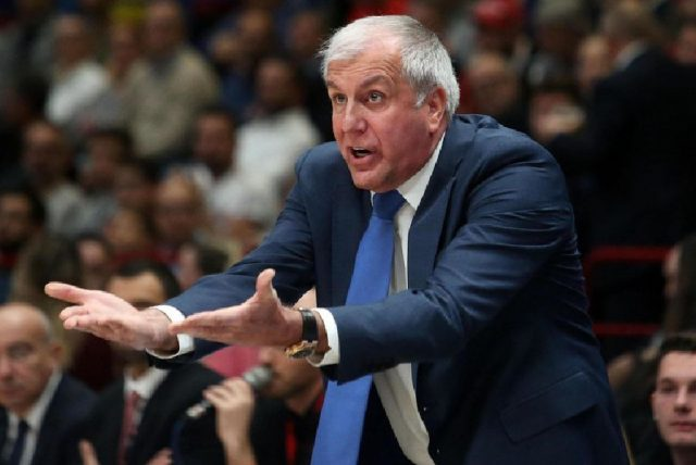 Żeljko Obradović / fot. Euroleague