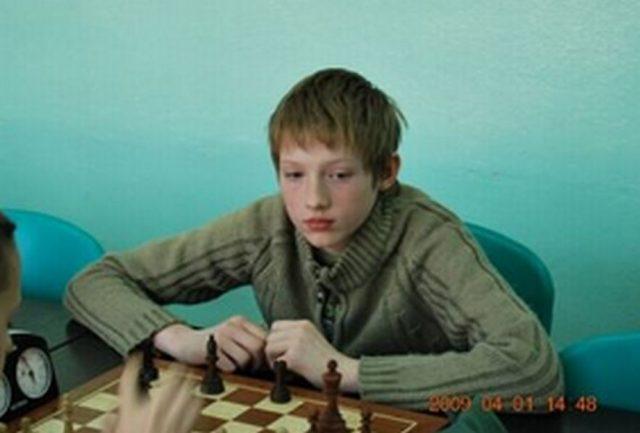 12-letni Aleksander Dziewa (fot. katalogbazszachowych.pl)