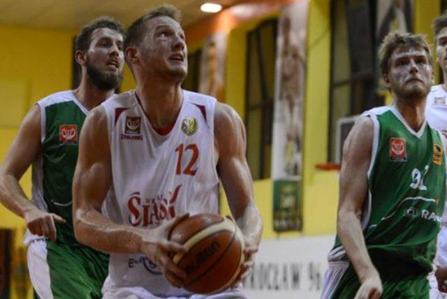 Aleksander Dziewa (fot. FutureNet Śląsk Wrocław)