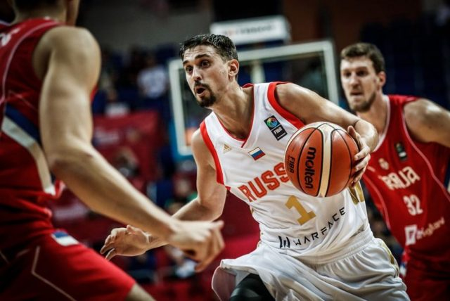 Aleksiej Szwied (fot. FIBA.com)