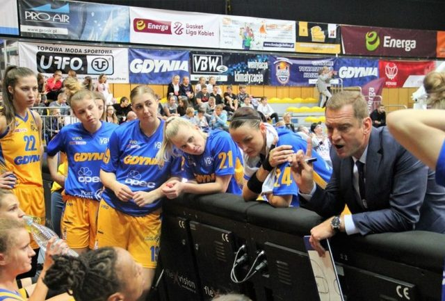 fot. Arka Gdynia / basketligakobiet.pl