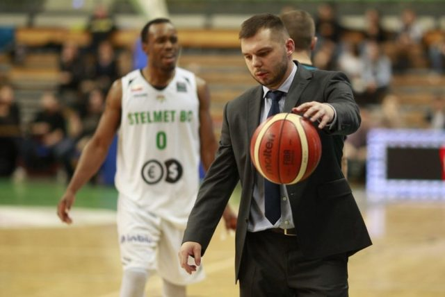 Artur Gronek (fot. basketballcl.com)