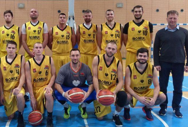 Z górnym rzędzie z nr. 11 - Mariusz Piotrkowski (fot. AZS AWF Romus Mickiewicz Katowice)