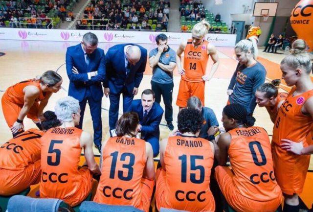 Karol Kowalewski (w środku) fot. CCC Polkowice