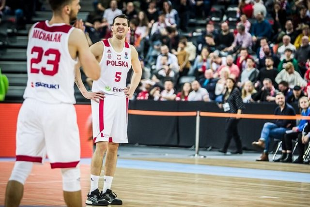 Aaron Cel i Michał Michalak /fot. FIBA