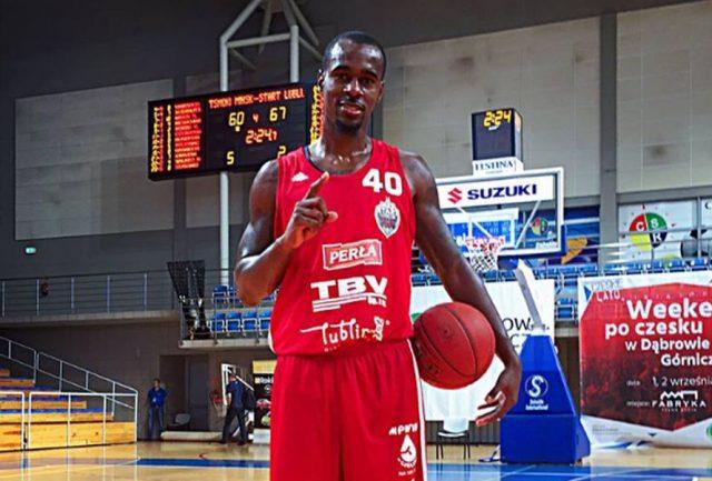 Chavaughn Lewis (fot. Facebook.com/Start Lublin)