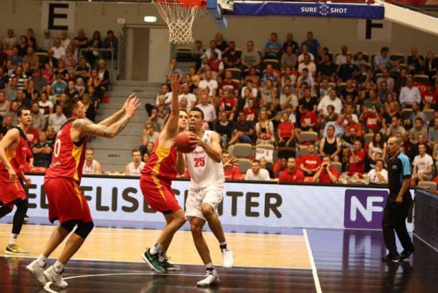 Mecz Dania - Niemcy (Fot. Facebook.com/danskbasket