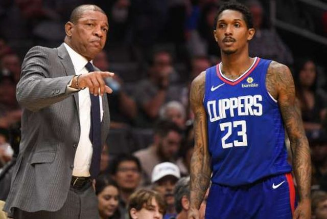 Doc Rivers i Lou Williams / fot. wikimedia commons