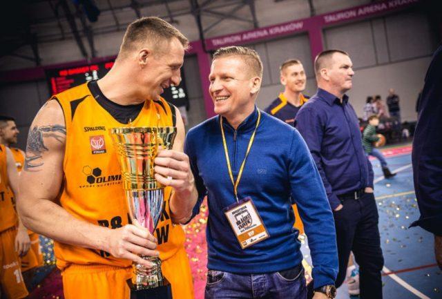 Dominik Kotarba Majkutewicz, Michał Hlebowicki i Puchar Polski PZKosz (fot. R8 Basket Kraków)