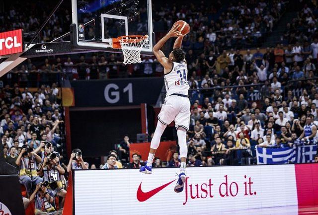 Giannis Antetokounmpo / fot. FIBA
