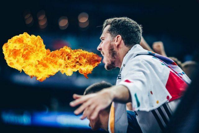 Goran Dragić (fot. FIBA/Twitter)