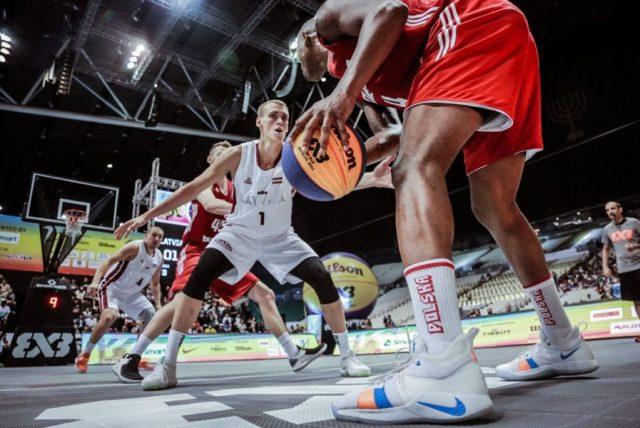 Mecz Polska - Łotwa, fot. FIBA