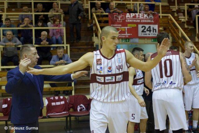 Hubert Pabian (fot. Facebook.com/SpójniaStargard/Tadeusz Surma)