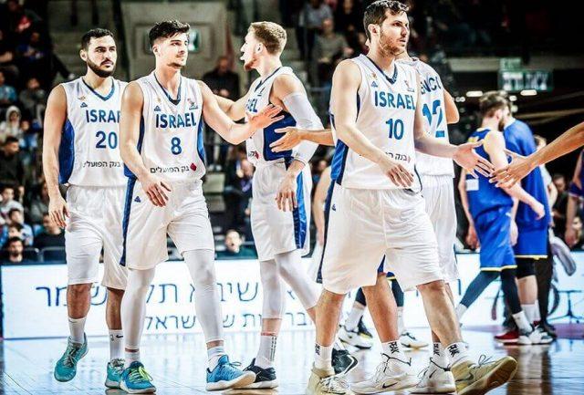 Deni Avdija i reprezentacja Izraela /fot. FIBA