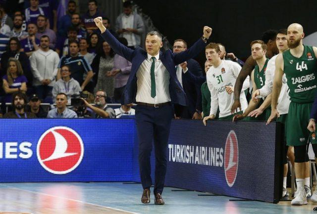 Sarunas Jasikievicius / fot. EuroLeague