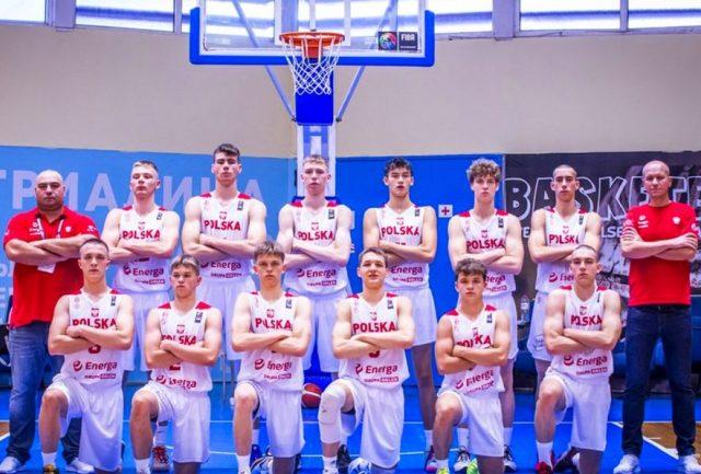 Reprezentacja Polski do lat 16, fot. FIBA