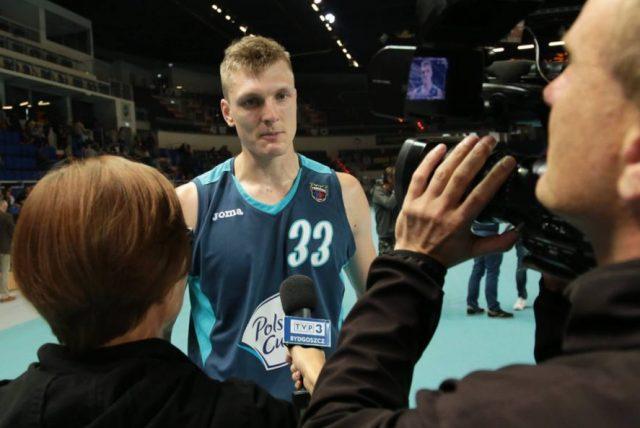 Karol Gruszecki (fot. Facebook.com/Polski Cukier Toruń)
