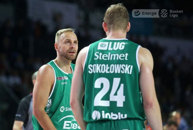 Łukasz Koszarek i Michał Sokołowski / fot. A. Romański, plk.pl