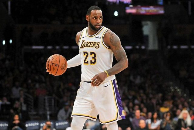 LeBron James / fot. wikimedia commons